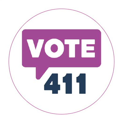 Vote411 Button